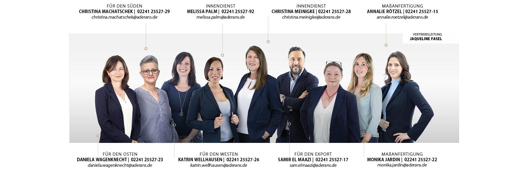 Fachhandel Team Aderans Vertrieb
